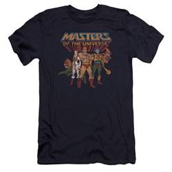Masters Of The Universe - Mens Team Of Heroes Premium Slim Fit T-Shirt