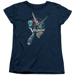 Voltron - Womens Defender Pose T-Shirt