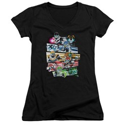Voltron - Juniors Paladins Strike V-Neck T-Shirt