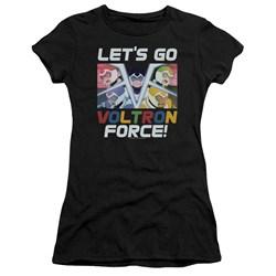Voltron - Juniors Lets Go T-Shirt