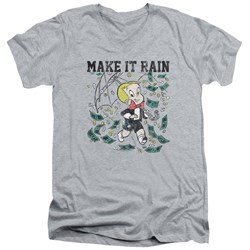 Richie Rich - Mens Make It Rain V-Neck T-Shirt