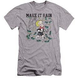 Richie Rich - Mens Make It Rain Premium Slim Fit T-Shirt