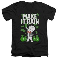 Richie Rich - Mens Make It Rain V-Neck T-Shirt
