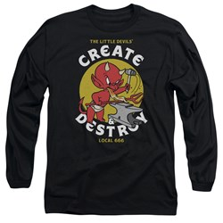 Hot Stuff - Mens Local Devils Long Sleeve T-Shirt