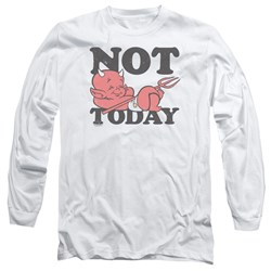 Hot Stuff - Mens Not Today Long Sleeve T-Shirt