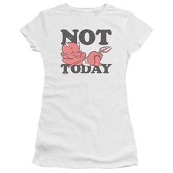 Hot Stuff - Juniors Not Today Premium Bella T-Shirt