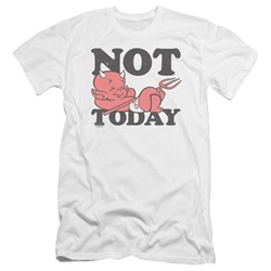 Hot Stuff - Mens Not Today Premium Slim Fit T-Shirt