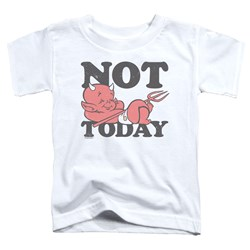 Hot Stuff - Toddlers Not Today T-Shirt