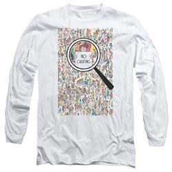 Wheres Waldo - Mens No Cheating Long Sleeve T-Shirt