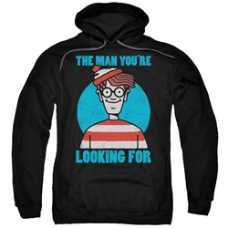 Wheres Waldo - Mens Looking For Me Pullover Hoodie