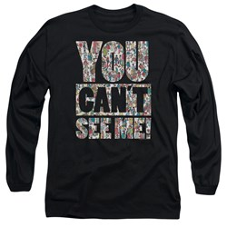 Wheres Waldo - Mens See Me Long Sleeve T-Shirt
