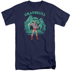 Masters Of The Universe - Mens Grayskull Nights Tall T-Shirt