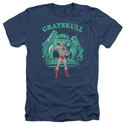 Masters Of The Universe - Mens Grayskull Nights Heather T-Shirt