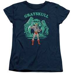 Masters Of The Universe - Womens Grayskull Nights T-Shirt