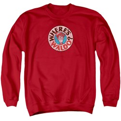 Wheres Waldo - Mens Waldo Logo Sweater