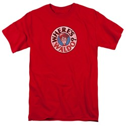 Wheres Waldo - Mens Waldo Logo T-Shirt