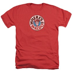 Wheres Waldo - Mens Waldo Logo Heather T-Shirt