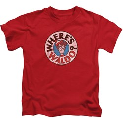 Wheres Waldo - Youth Waldo Logo T-Shirt
