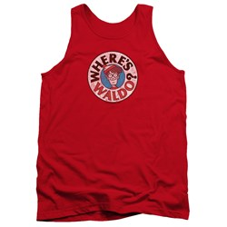Wheres Waldo - Mens Waldo Logo Tank Top