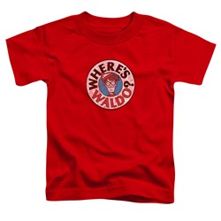 Wheres Waldo - Toddlers Waldo Logo T-Shirt