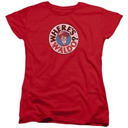 Wheres Waldo - Womens Waldo Logo T-Shirt