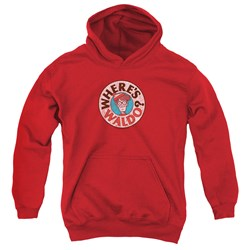 Wheres Waldo - Youth Waldo Logo Pullover Hoodie