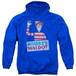 Wheres Waldo - Mens Waldo Wave Pullover Hoodie