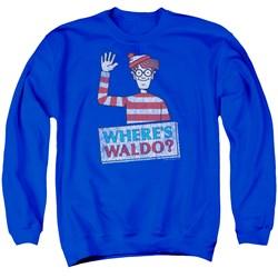Wheres Waldo - Mens Waldo Wave Sweater