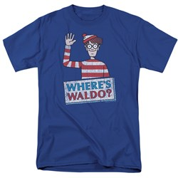 Wheres Waldo - Mens Waldo Wave T-Shirt