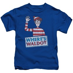 Wheres Waldo - Youth Waldo Wave T-Shirt