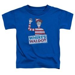 Wheres Waldo - Toddlers Waldo Wave T-Shirt