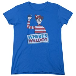 Wheres Waldo - Womens Waldo Wave T-Shirt