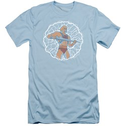 Masters Of The Universe - Mens Lightning Power Slim Fit T-Shirt