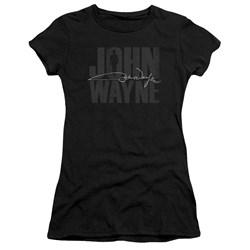 John Wayne - Juniors Silhouette Sig Premium Bella T-Shirt