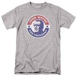 John Wayne - Mens John Wayne For President T-Shirt
