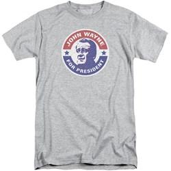 John Wayne - Mens John Wayne For President Tall T-Shirt