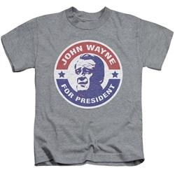 John Wayne - Youth John Wayne For President T-Shirt