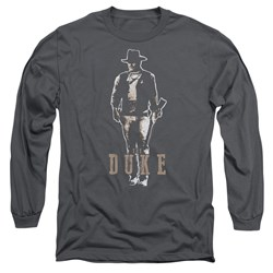 John Wayne - Mens The Duke Long Sleeve T-Shirt