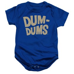 Dum Dums - Toddler Distressed Logo Onesie