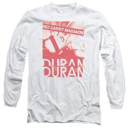 Duran Duran - Mens Red Carpet Massacre Long Sleeve T-Shirt