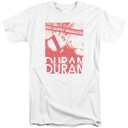 Duran Duran - Mens Red Carpet Massacre Tall T-Shirt