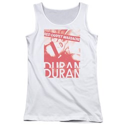 Duran Duran - Juniors Red Carpet Massacre Tank Top