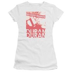 Duran Duran - Juniors Red Carpet Massacre Premium Bella T-Shirt