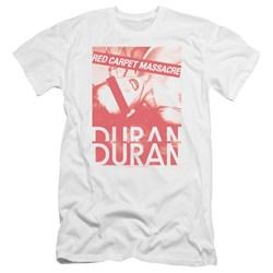 Duran Duran - Mens Red Carpet Massacre Premium Slim Fit T-Shirt