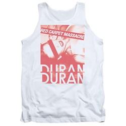 Duran Duran - Mens Red Carpet Massacre Tank Top