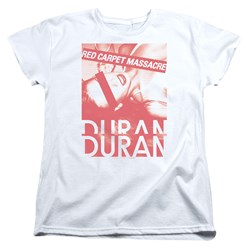 Duran Duran - Womens Red Carpet Massacre T-Shirt