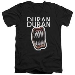 Duran Duran - Mens Pressure Off V-Neck T-Shirt