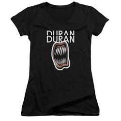 Duran Duran - Juniors Pressure Off V-Neck T-Shirt