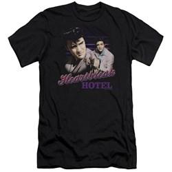 Elvis Presley - Mens Heartbreak Hotel Premium Slim Fit T-Shirt