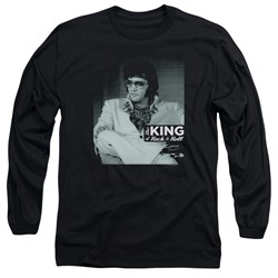 Elvis Presley - Mens Good To Be Long Sleeve T-Shirt
